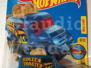 Carrinho Roller Toaster - Hot Wheels