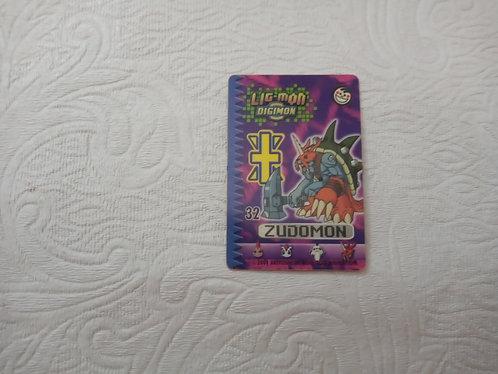 Cartinha Ligmon - Zudomon - Número 32