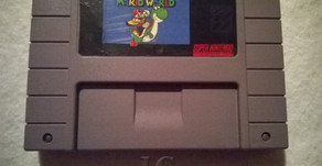 Jogo Super Mario World do Super Nintendo