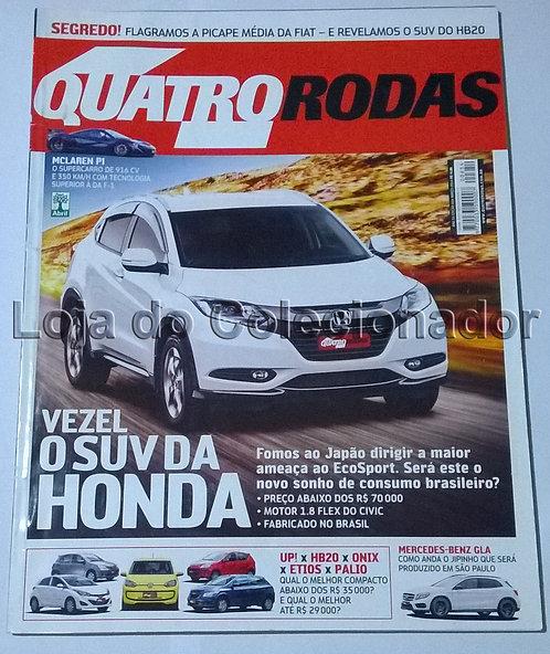 Revista Quatro Rodas - Número 654 - Março de 2014