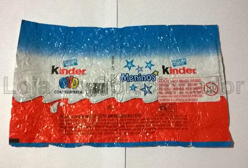 Embalagem Vazia Kinder Ovo - 2015 - Coleção