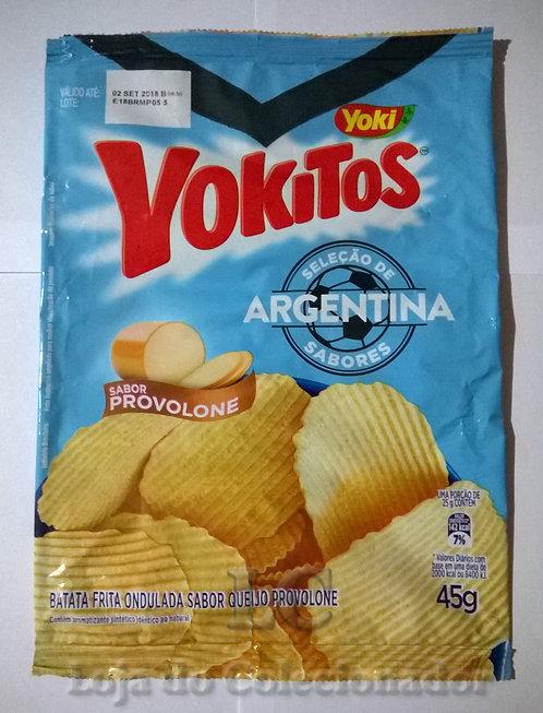Embalagem Yokitos - Copa do Mundo - Argentina - Vazia