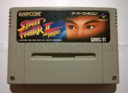 Fita Street Fighter II Turbo - Super Famicom - Original