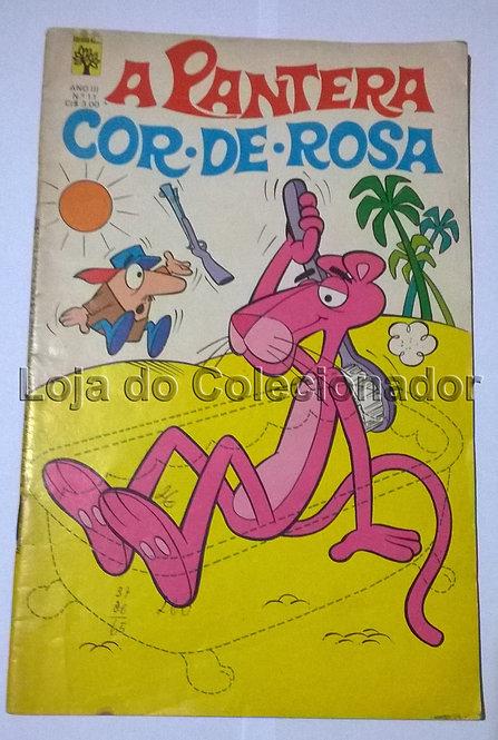 Gibi - A Pantera Cor de Rosa - Número 11 - 1976