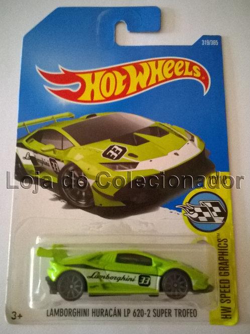 Carrinho Hot Wheels - Lamborghini Huracán LP 620-2 Super Trofeo