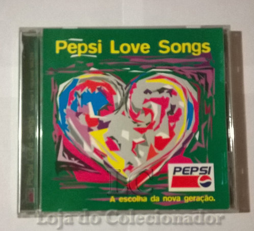 CD Love Songs Pepsi
