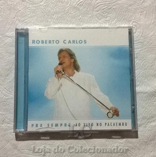 CD original Roberto Carlos - Ao Vivo no Pacaembu
