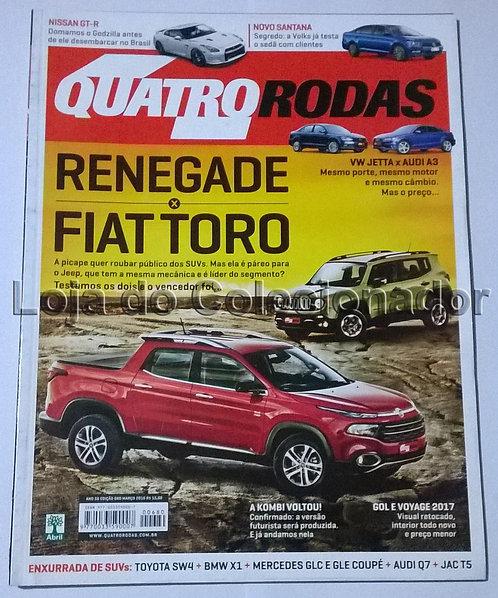Revista Quatro Rodas - Número 680 - Março de 2016