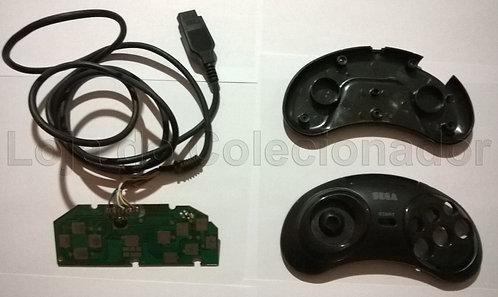 Peças de Reposição - Controle de Master System com 6 Botões