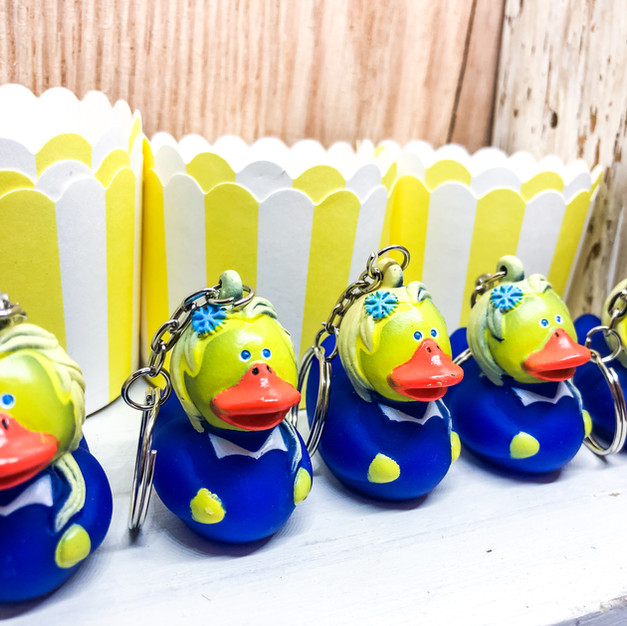 .29ea, Hero Duckie Keychains