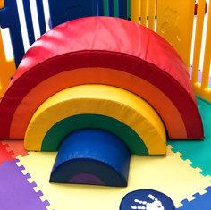 Soft Play Rainbow Stacking Toy