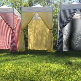 Carnival-themed 5x5 tents
