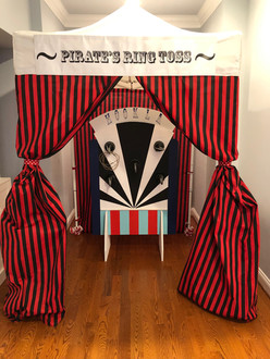 Pirate Ring Toss Carnival Game Inside House
