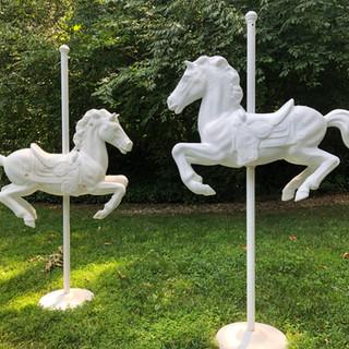 Carousel Statues (paper mache)