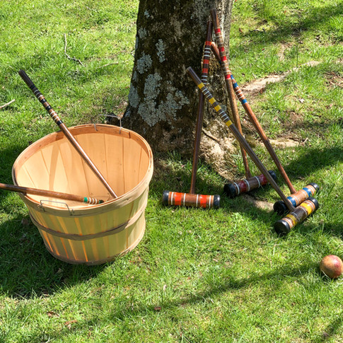 Vintage 6-Player Croquet (small)