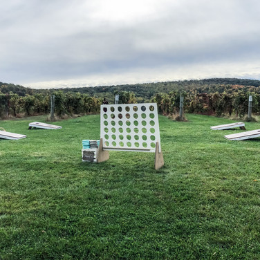 Connect 4 and Cornhole