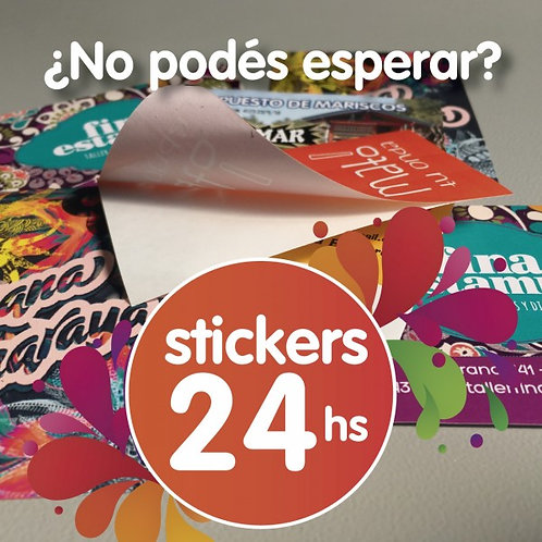 StickerTroquelado de 48 a 72 horas