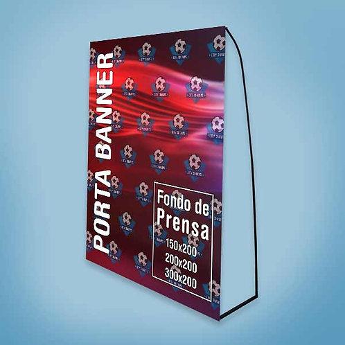 Porta Banner / Fondo de Prensa