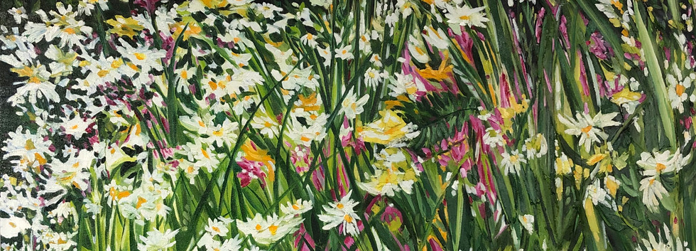 "Oil on Canvas 36""x36"""