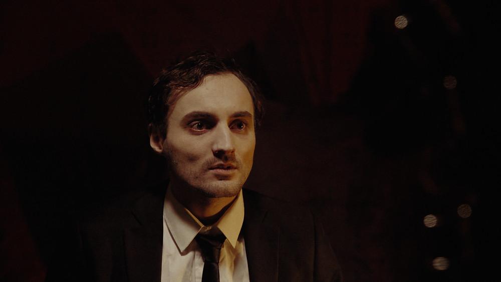 Thomas Crownhurst as Leon in 'Purgatorium' (2018)