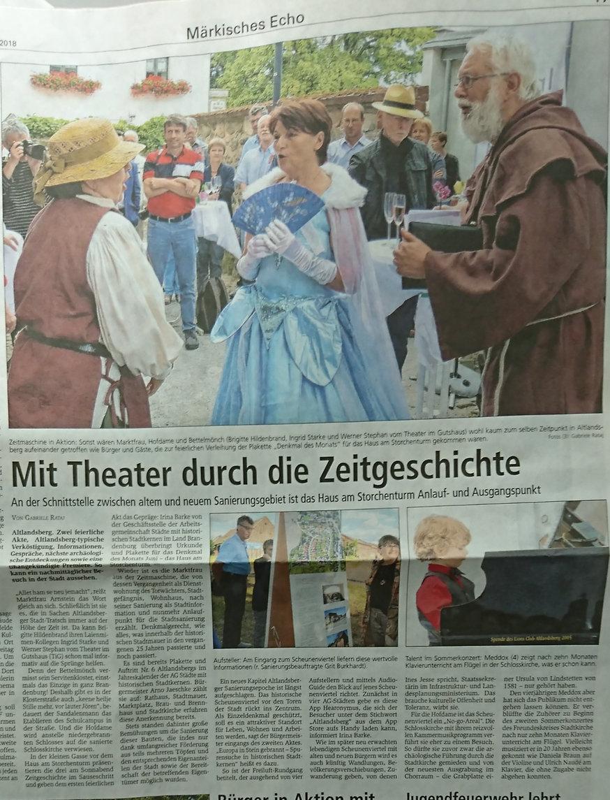 Märkische Oderzeitung vom 07.07.2020