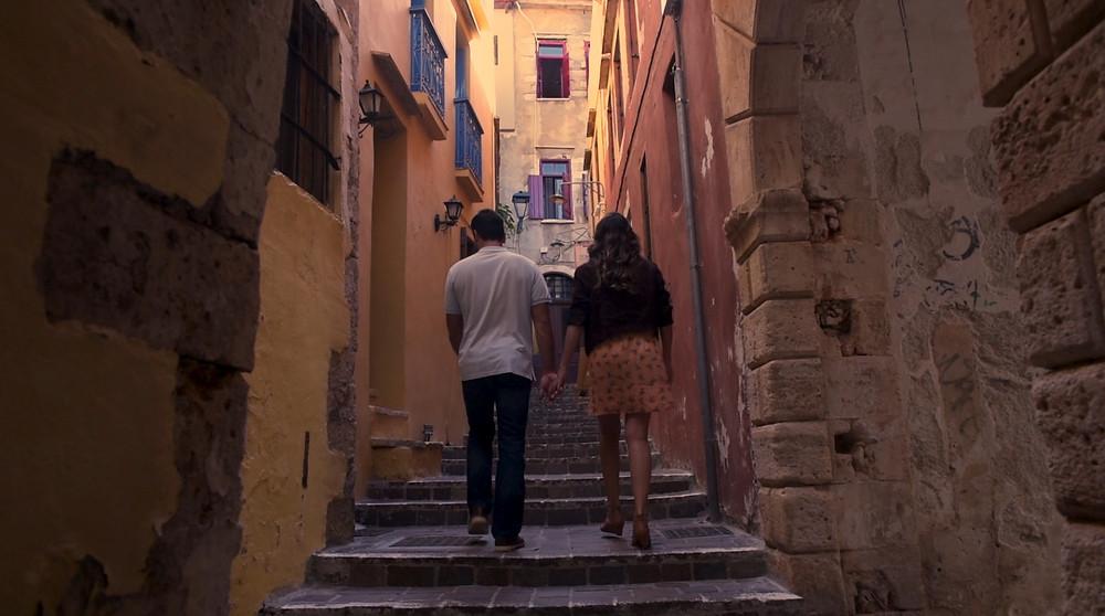 The romantic views of Diktynna, Crete