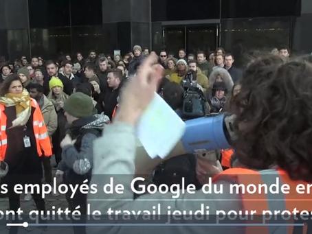 Harcèlement sexuel: des employés de Google débrayent