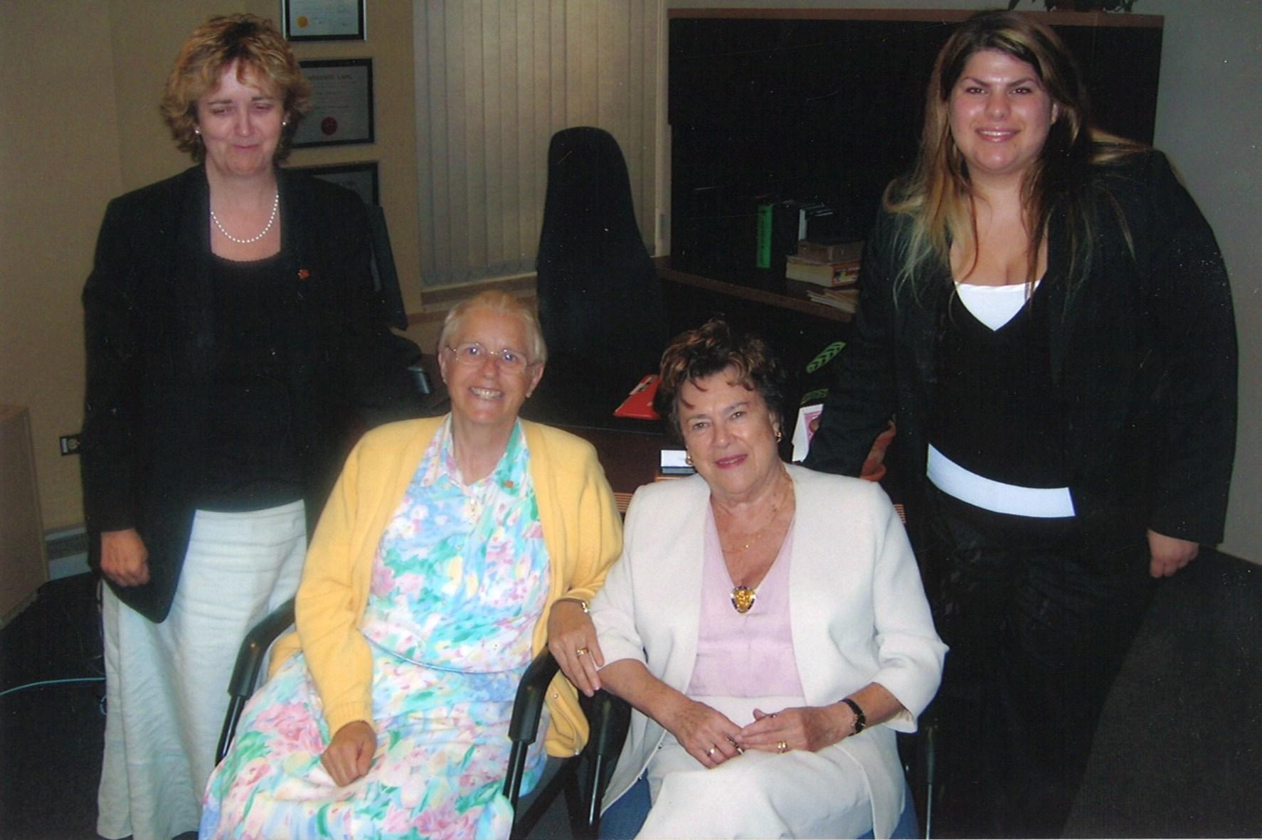 2005 Quebec City Yvonne, Stella, Claire and Bonnie