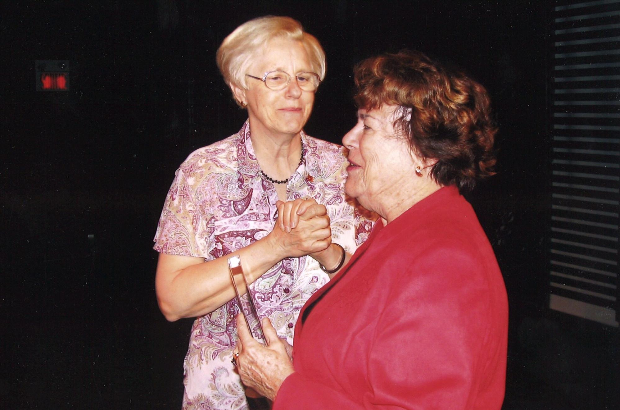 Bonnie Robichaud and Claire L'Heureux Dubé 25th anniversary 2005