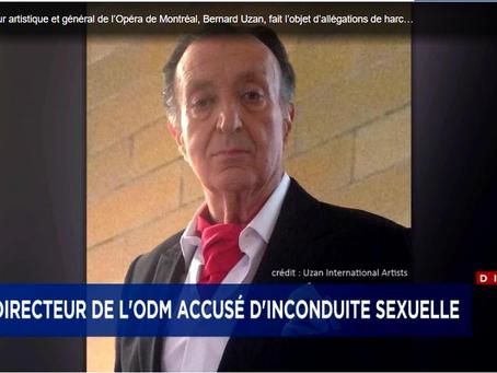 Un ancien directeur de l'Opéra de Montréal accusé de harcèlement sexuel