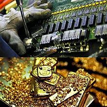 Лом и отходы драгоценных металлов