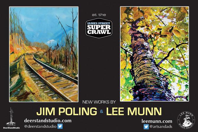 SUPERCRAWL Sept. 12 & 13 Jim Poling & Lee Munn