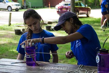 Camp Arcadia Knots Campcraft