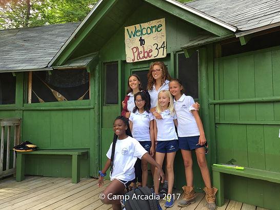 Camp Arcadia Cabins