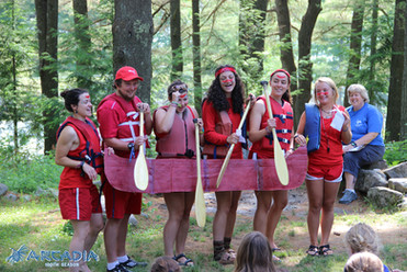 Camp Arcadia Canoeing