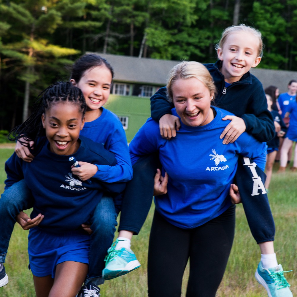 Friendship at Camp Arcadia for Girls