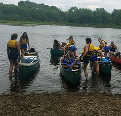 Trip safety, Canoeing Camp Arcadia