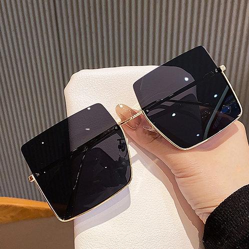 2021 Retro  Women Oversized sunglasses