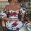 Thumbnail: Sexy Floral Print Party Dress