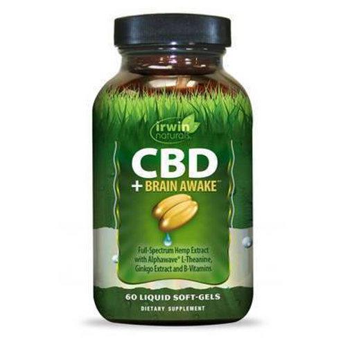 CBD Capsules - CBD + Brain Awake - 30mg