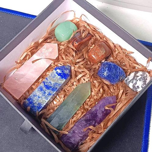 Healing Crystals Gift Box