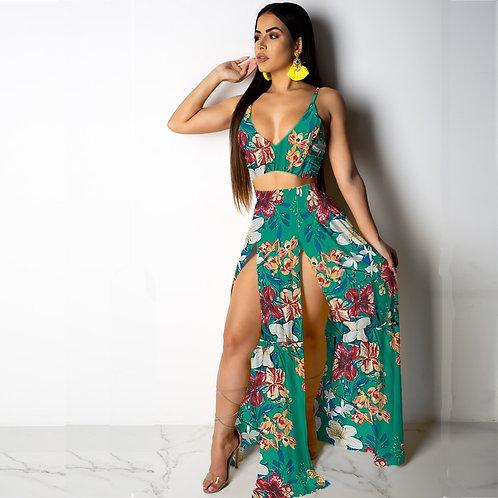 Sexy Beach Dress (2Pcs Set)