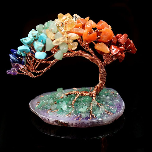 Tree of Life Crystal Quartz Stones
