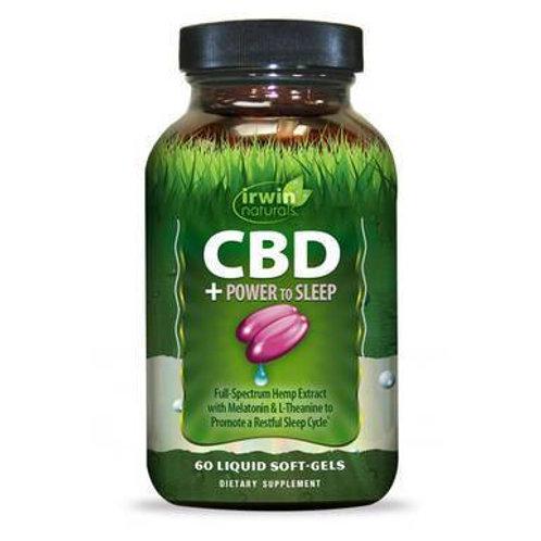 CBD Capsules - CBD + Power to Sleep - 30mg
