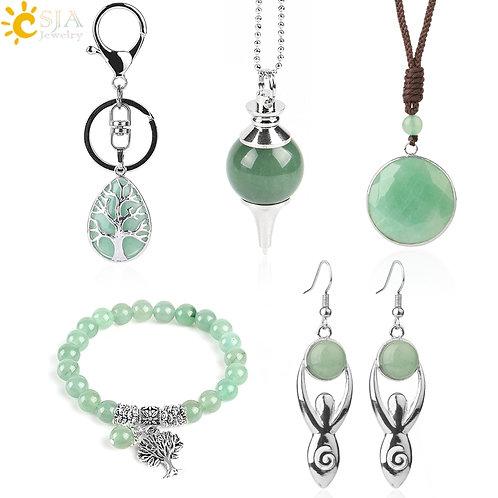 Green Aventurine Gift Set