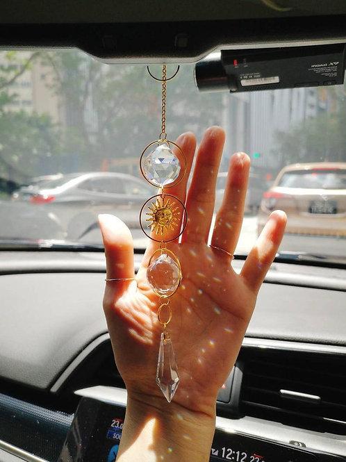 Crystal Suncatcher for Car