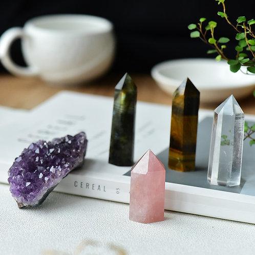 5PC Crystal Healing Gift Set
