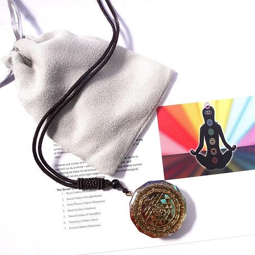 7 Chakra Pendant -Meditation Body Balance for Health