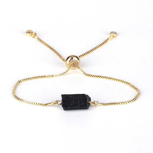 Black Tourmaline Adjustable Bracelets