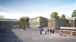 Rénovation école du Chevré.  Acignè